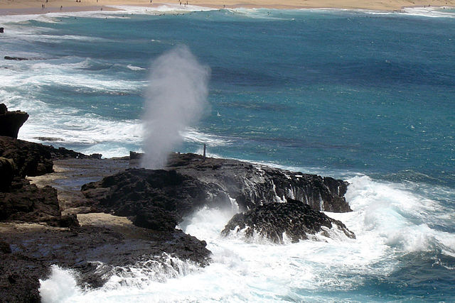 South Shore Oahu Road Trip Shaka Guide Halona Blowhole | Photo by Napnet