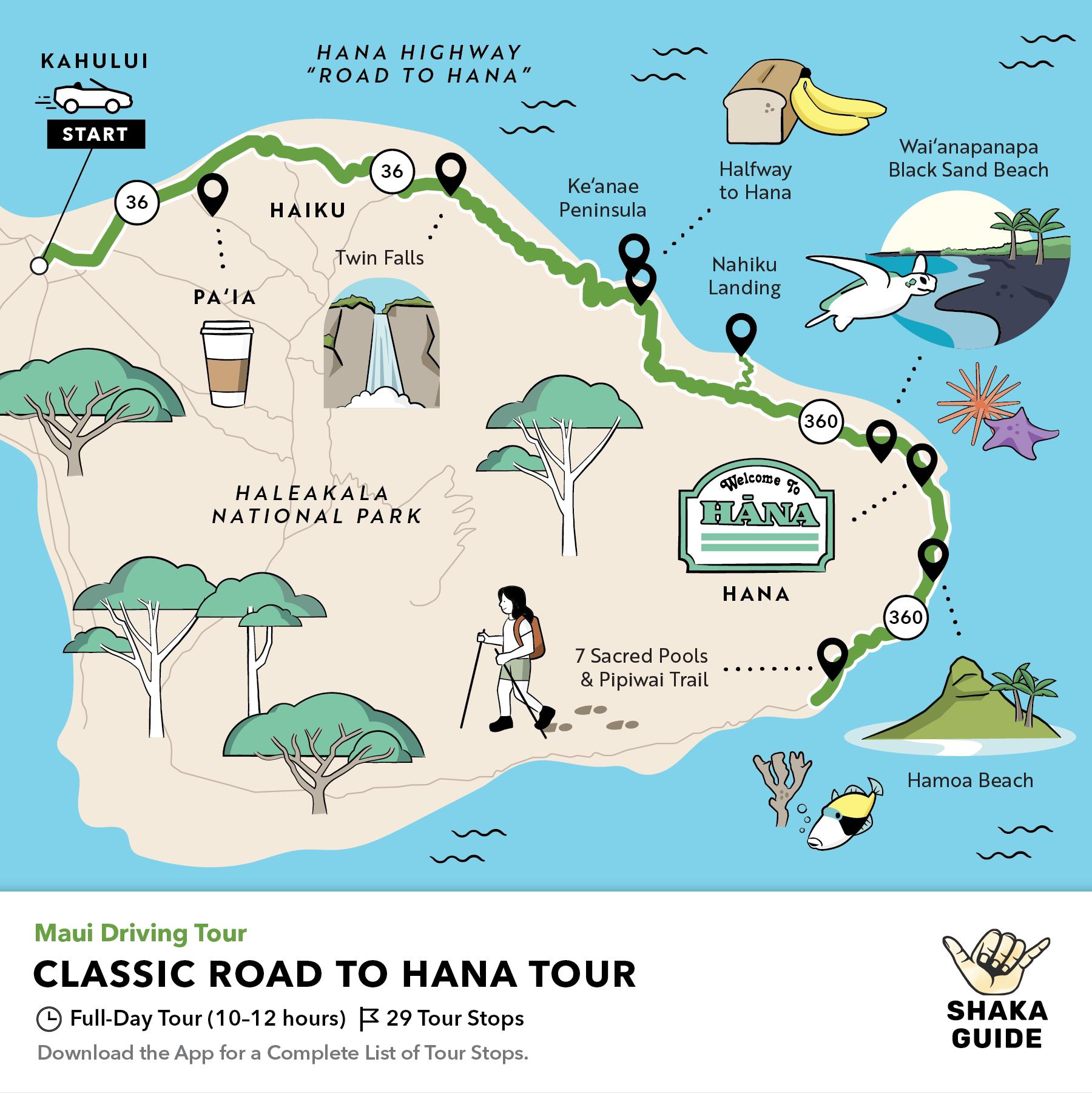 Shaka Guide's Classic Road to Hana Tour