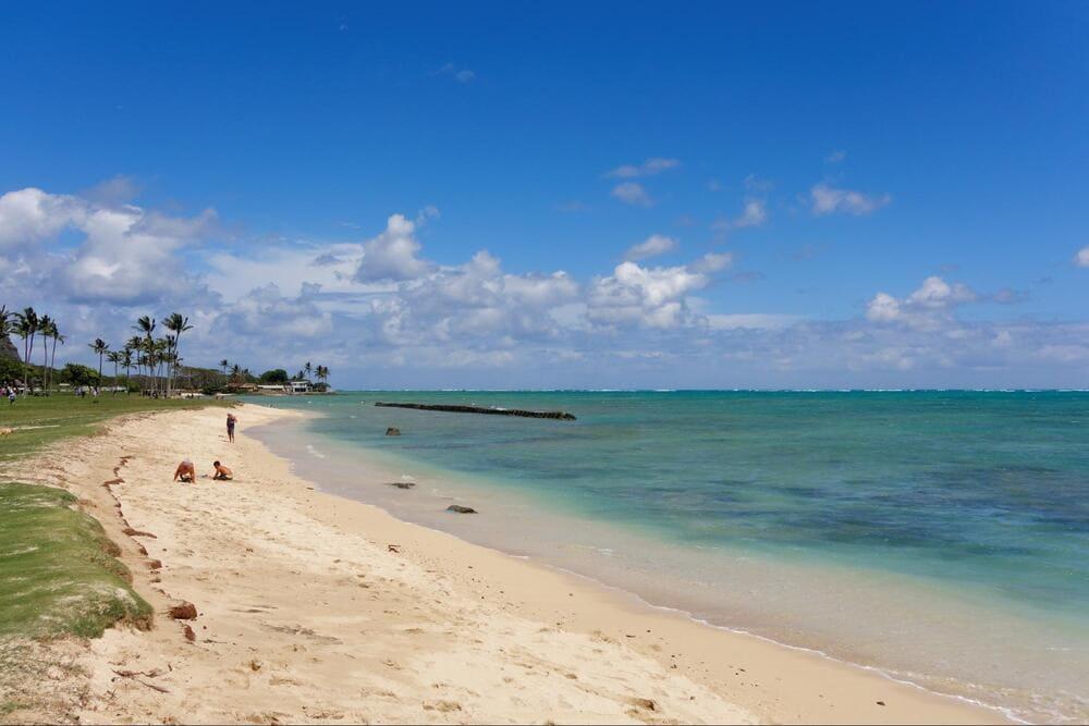 Beach at Kualoa Regional Park Shaka Guide Oahu