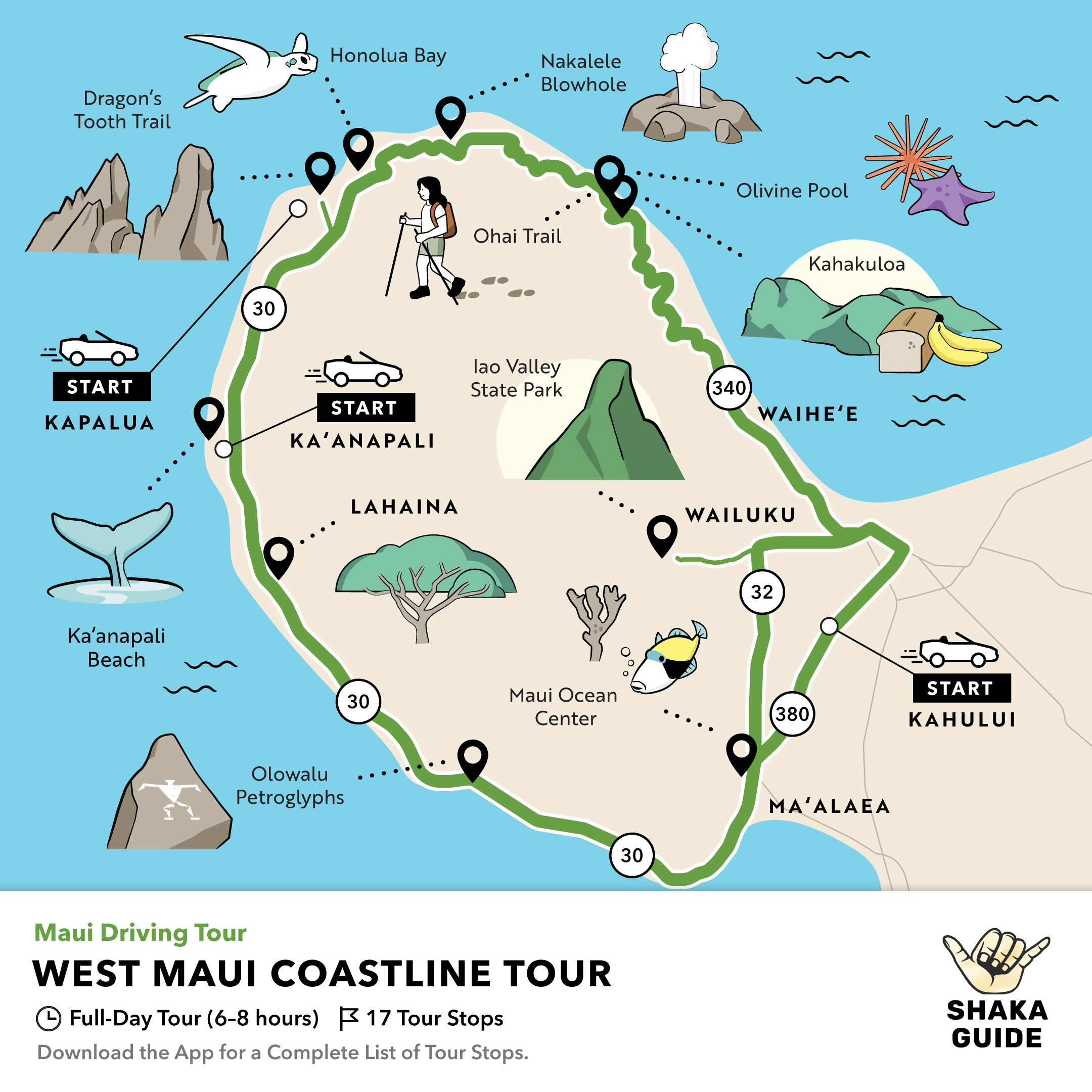 Shaka Guide's West Maui Coastline Tour