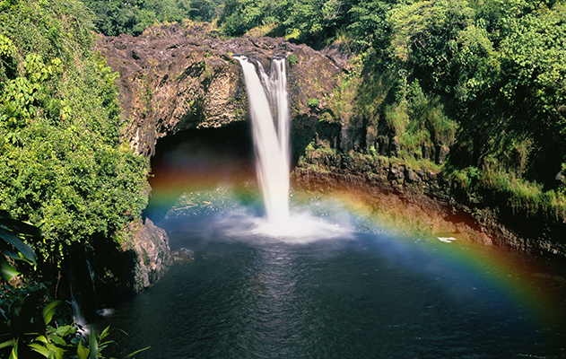 rainbow falls and boiling pots hilo big island hawaii shaka guide north island jungle adventure loop driving tour