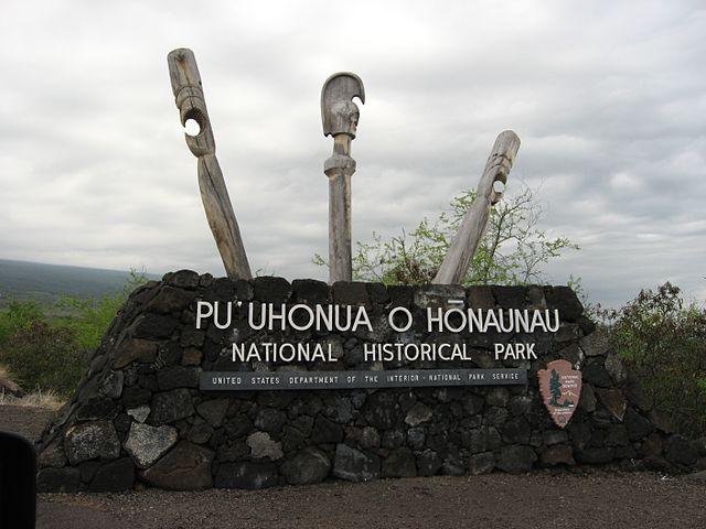 Pu'uhonua National Historical Park shaka guide big island hawaii driving tour