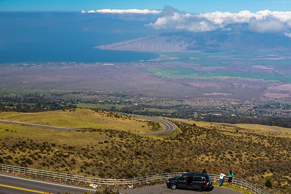 Scenic overlook, Shaka Guide's Sunrise at Haleakala National Park Tour