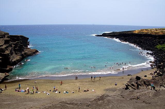 Papakolea Green Sand Beach Big Island shaka guide south island epic coastal journey driving tour