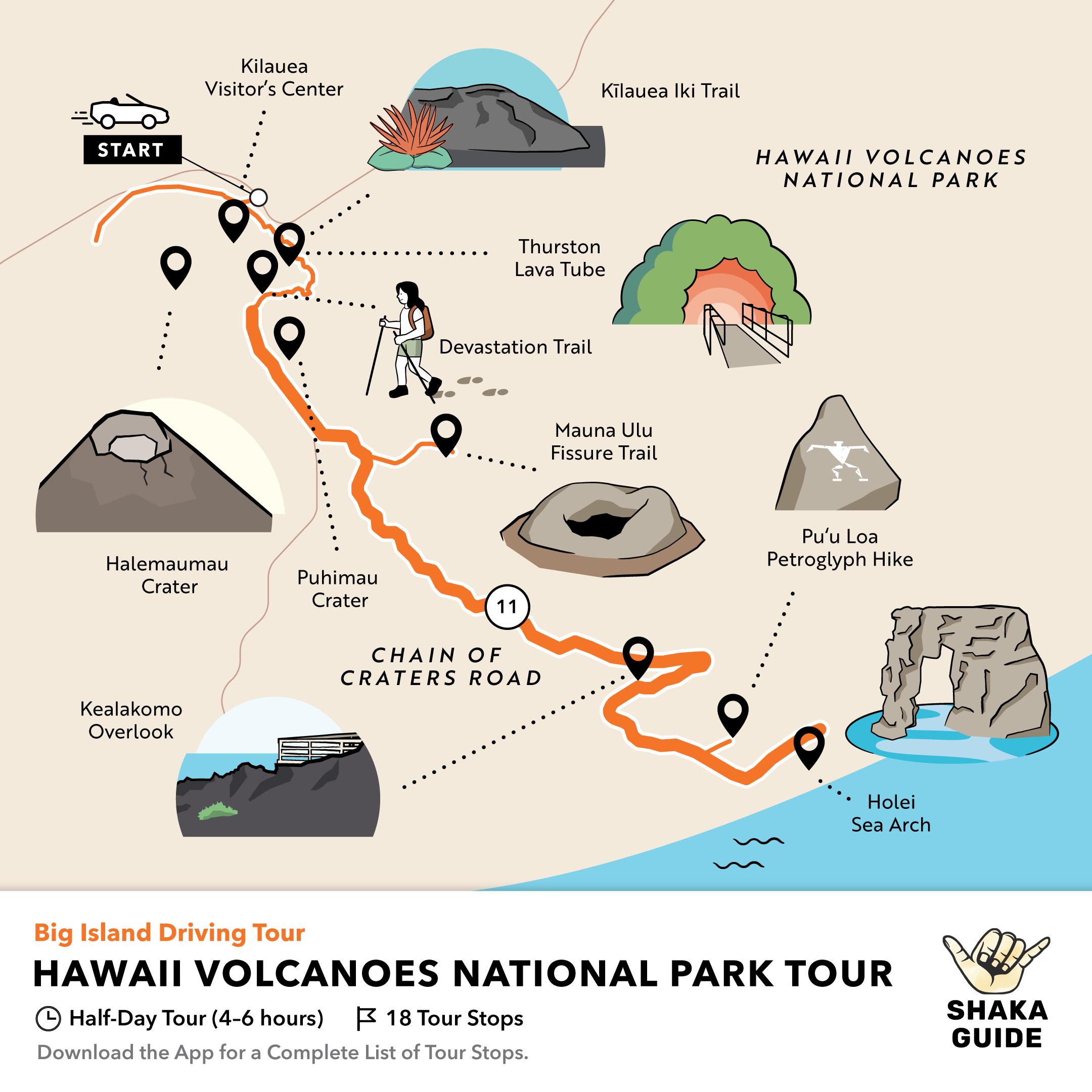 Shaka Guide's Hawaii Volcanoes National Park Tour