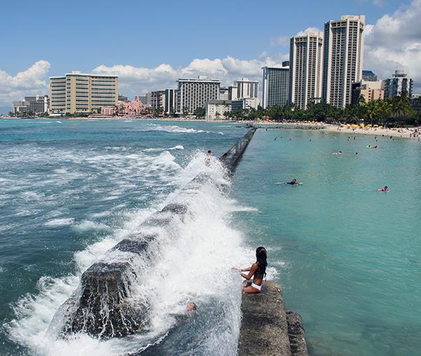 Waikiki Beach Oahu Shaka Guide
