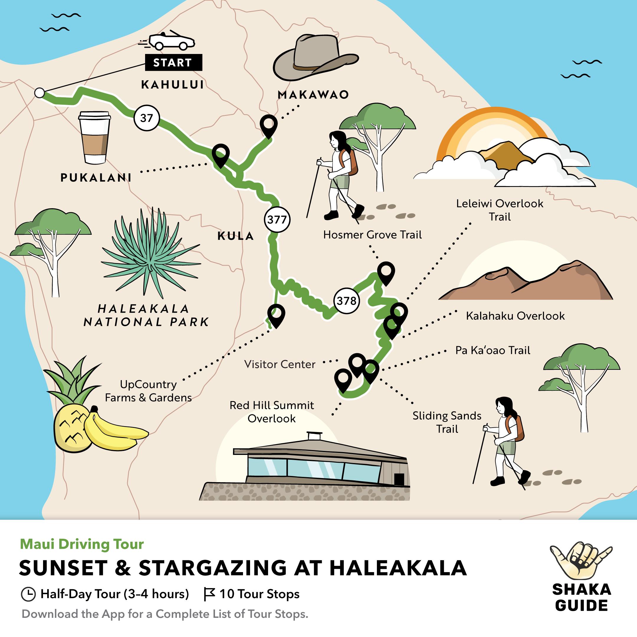 Shaka Guide's Sunset & Stargazing Haleakala Tour