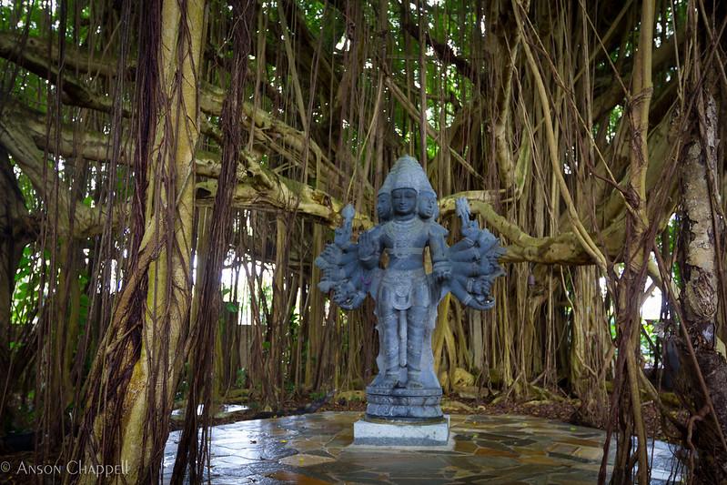 Kauai's Hindu Monastery is one of the best stops on Shaka Guide's Wailua Valley and Waterfalls Tour