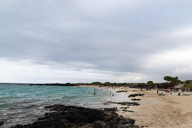 Kua Bay white sand beach Big island Hawaii Photo by dronepicr shaka guide big island south island epic coastal journey driving tour