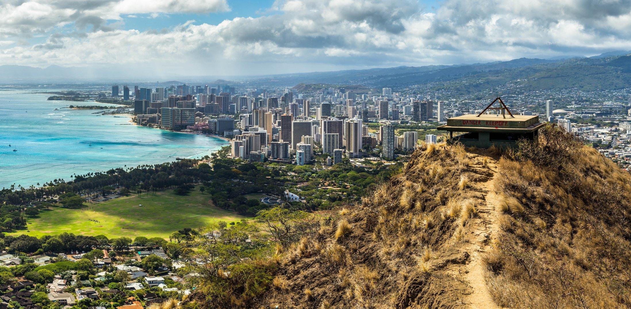 Diamond Head Travel Guide Shaka Guide Audio Driving Tours Oahu Hawaii Aloha